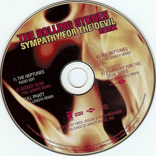 Rolling Stones, The - Sympathy For The Devil (2003, Single)