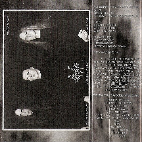 Deivos - Praised By Generations (1999 Broken Mind Records, Poland)