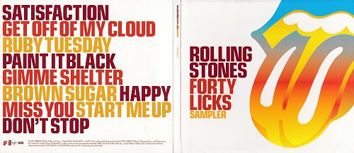 Rolling Stones, The - Forty Licks Sampler (2002)