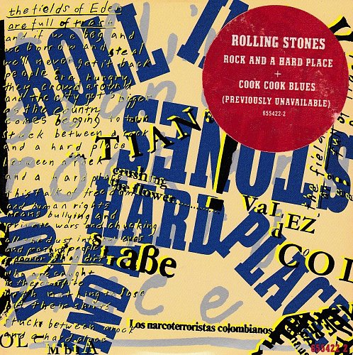 Rolling Stones, The - Rock And A Hard Place (1989, Single)