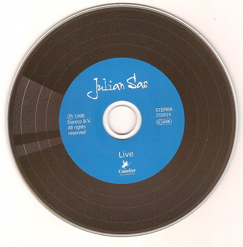 Julian Sas Band - Live (1998)