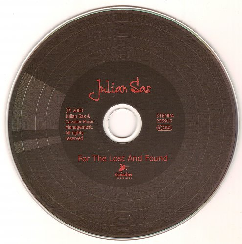 Julian Sas - For The Lost and Found (2000)