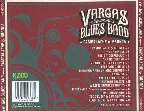 Vargas Blues Band - Cambalache & Bronca (2017)