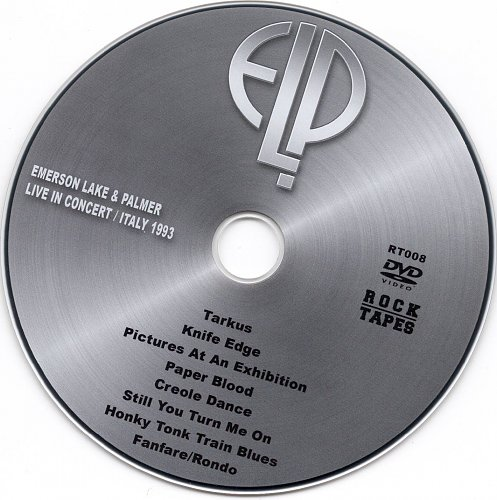 Emerson, Lake & Palmer - Live in Concert Italy (1993)
