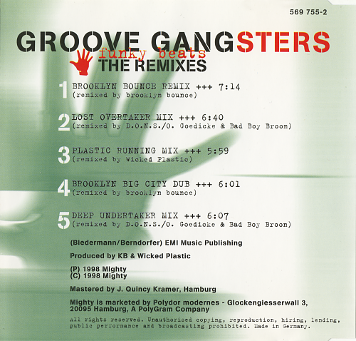 Groove Gangsters - Funky Beats (1998)