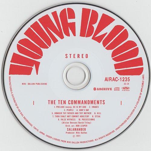Salamander - The Ten Commandments (1971)