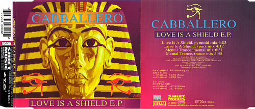Cabballero - Love Is A Shield E.P. (1995)