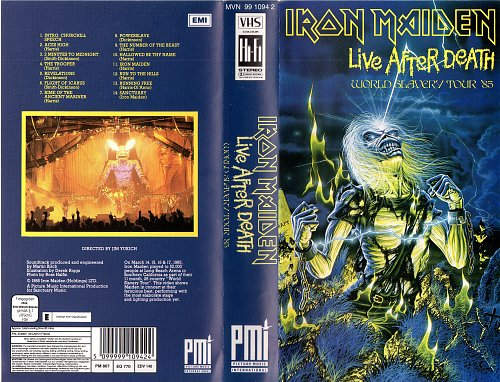 Iron Maiden - Live After Death (1985)