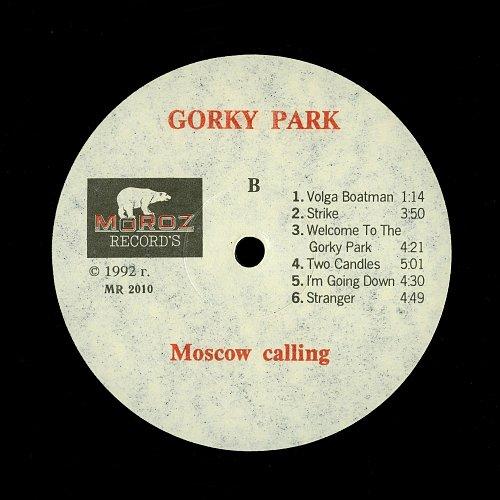 Парк Горького / Gorky Park - Moscow Calling (1992) [Moroz Records – MR 2009-10]
