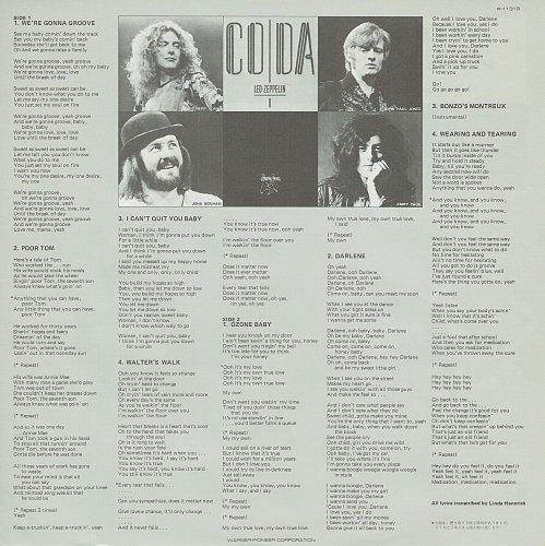 Led Zeppelin - Coda (1982)