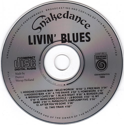 Livin' Blues - Snakedance. Live 1989 (1989)