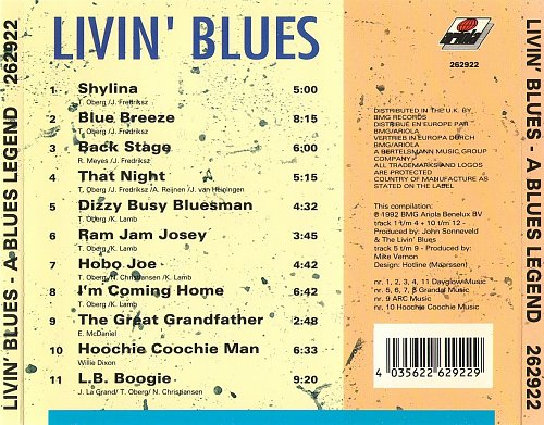Livin' Blues - A Blues Legend (1992)