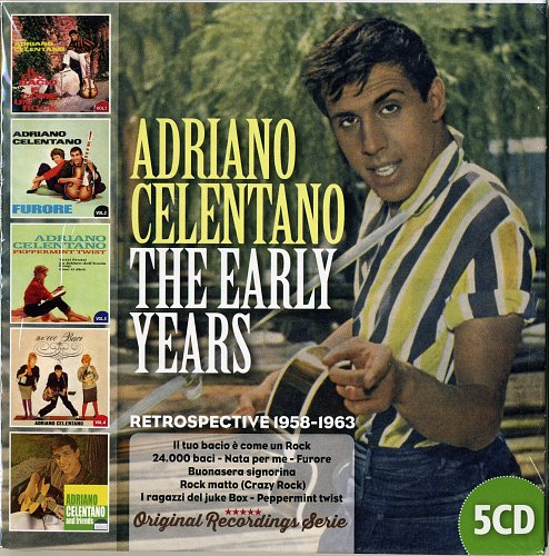 Adriano Celentano - The Early Years (1958-1963) (2017)