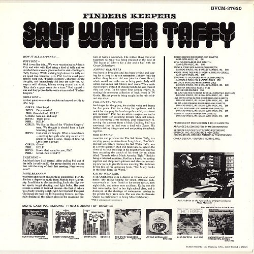 Salt Water Taffy - Finders Keepers (1968)
