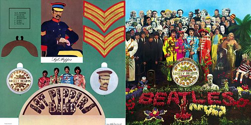 Beatles - Sgt Pepper's Lonely Hearts Club Band (Purple Chick Deluxe Edition) 1967