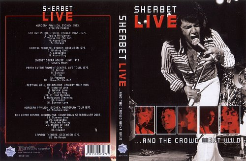 Sherbet - Live... andthe Crowd Went Wild (2006)