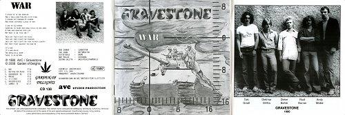Gravestone - War (1980)