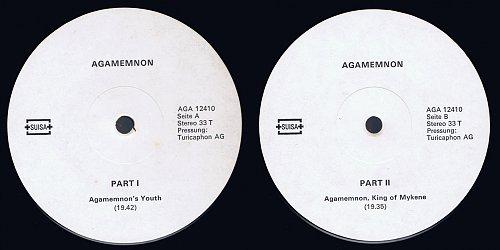 Agamemnon - Agamemnon Part I & II (1981)
