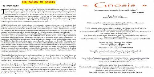 Gnidrolog - Gnosis (2000)