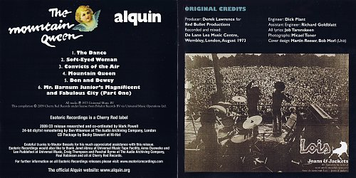 Alquin - The Mountain Queen (1973)