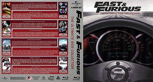 Форсаж 1-8 / Fast & Furious 1-8 (2001 - 2017)