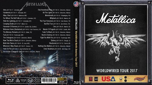 Metallica - WorldWired North America Tour (2017)