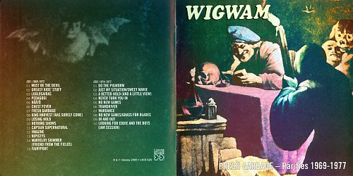 Wigwam - Fresh Garbage Rarities 1969–1977 (2000)