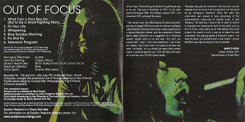 Out Of Focus - Out Of Focus (1971)