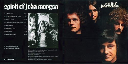Spirit Of John Morgan - Spirit Of John Morgan (1969)