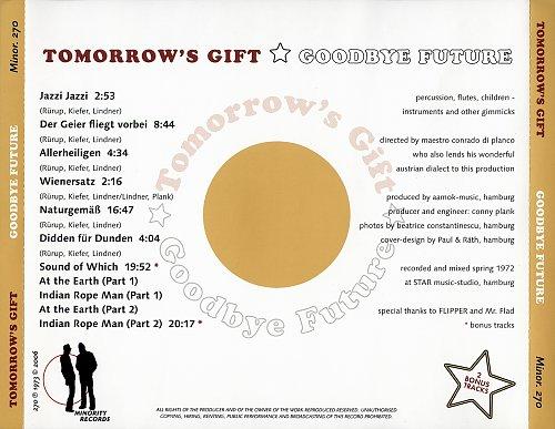 Tomorrow's Gift - Goodbye Future (1973)