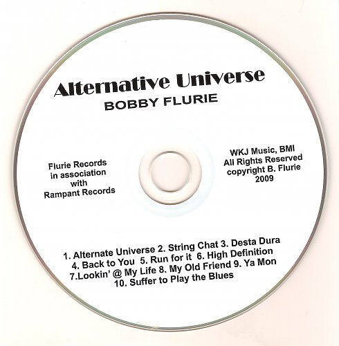 Bobby Flurie - Alternative Universe (2009)