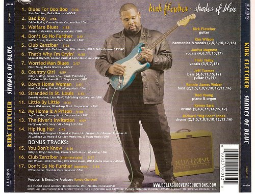 Kirk Fletcher - Shades Of Blue (2004)