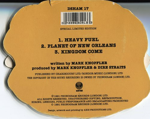 Dire Straits - Heavy Fuel (1991, CDS)
