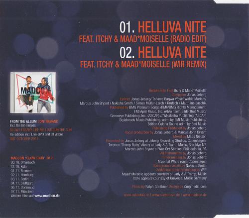 Madcon - Helluva Nite (2011)