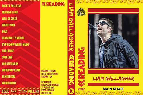 Liam Gallagher - Reading Fest (2017)