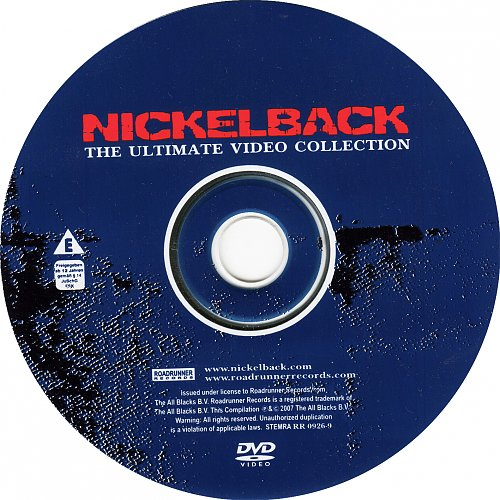 Nickelback-The Ultimate Video Collection