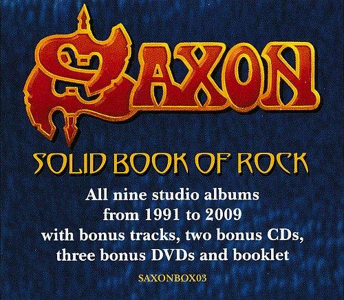 Saxon - Solid Book Of Rock (2017)