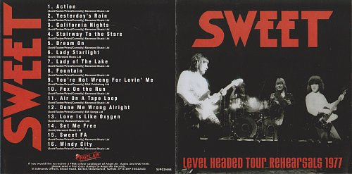 Sweet - Level Headed Tour Rehearsals 1977 (1977)