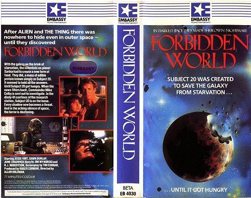 Forbidden World / Запретный мир (1982)
