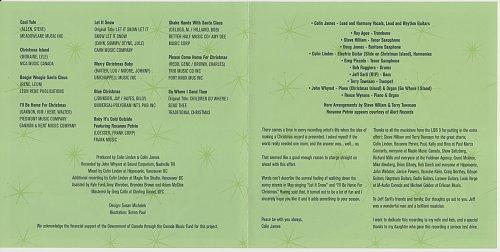 Colin James & The Little Big Band - Christmas (2007)