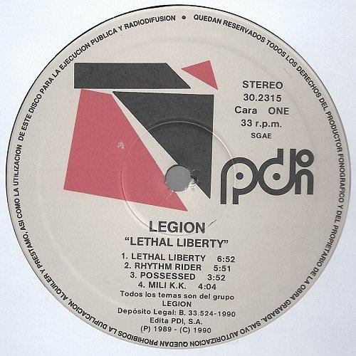 Legion - Lethal Liberty (1989)