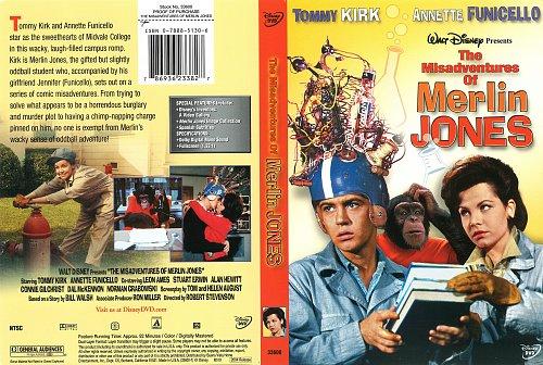 Злоключения Мерлина Джонса / The Misadventures of Merlin Jones (1964)