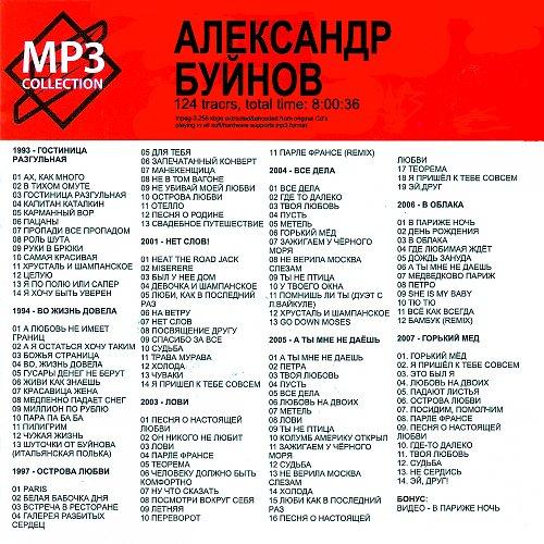 Буйнов Александр - Mp3-collection (2008)