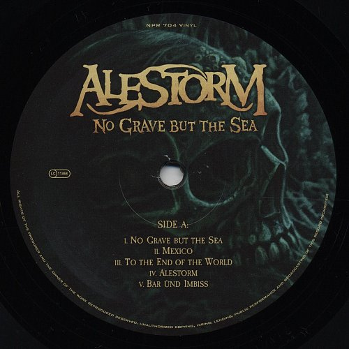 Alestorm - No Grave But The Sea (2017)