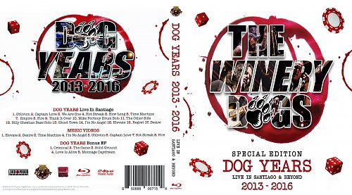 The Winery Dogs - Dog Years 2013 - 2016