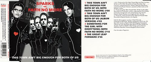 Sparks vs. Faith No More - This Town Ain't Big Enough For Both Of Us (CDS) (1997)