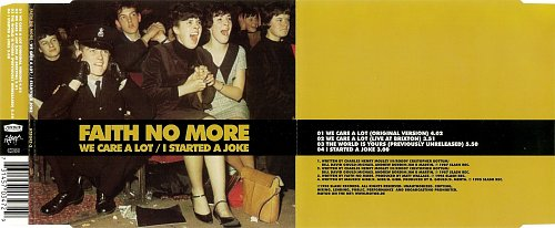 Faith No More - We Care A Lot / I Started A Joke (CDS) (1998)