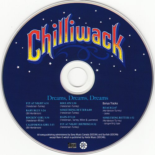 Chilliwack - Dreams, Dreams, Dreams (1976)