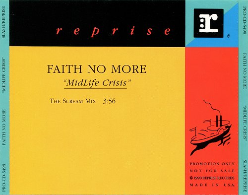 Faith No More - Midlife Crisis (CDS) (1992)