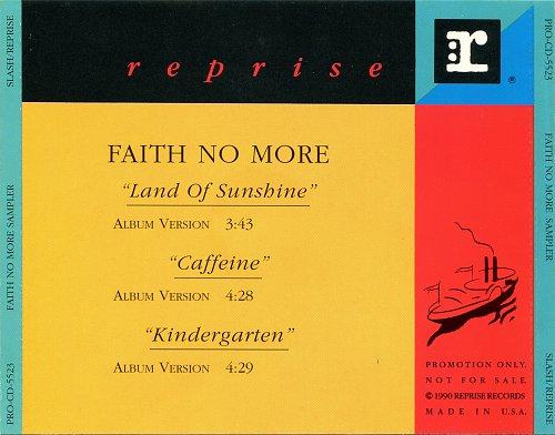 Faith No More - Faith No More Sampler (Promo) (1992)